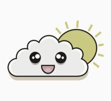 Kawaii Happy Cloud One Piece - Short Sleeve
