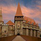 Corvin's Castle, Hunedoara, Romania by Maria Draper