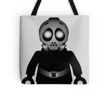 Zombie Apocalypse Hazmat Gas Mask Minifig Tote Bag