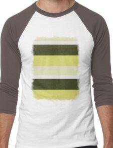 Cactus Garden Stripes 3H Men's Baseball ¾ T-Shirt