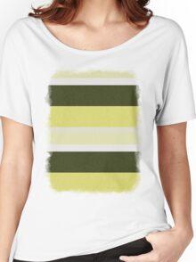 Cactus Garden Stripes 3H Women's Relaxed Fit T-Shirt