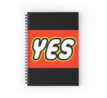 YES  Spiral Notebook