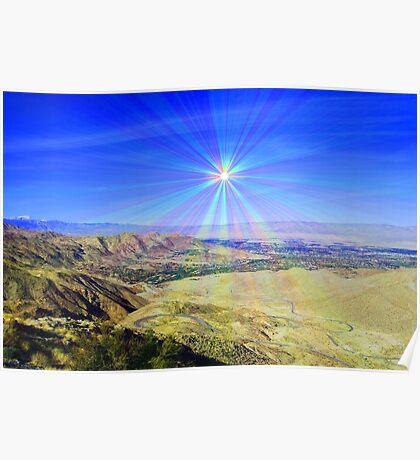 Coachilla Valley Sun Poster
