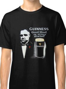 black glass of beer Classic T-Shirt