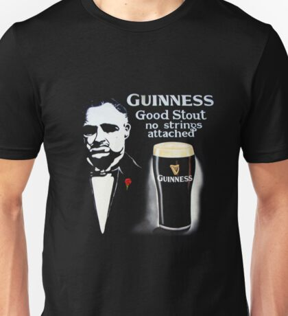 black glass of beer Unisex T-Shirt