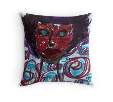 Sheer Panic/4th in beyond blue series Throw Pillow