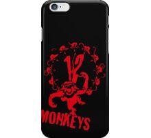 twelve monkeys 12 iPhone Case/Skin