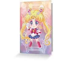 Chibi Sailor Moon Crystal Greeting Card