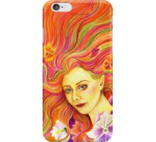 Beautiful image in the style of fantasy. Spring . iPhone Case/Skin