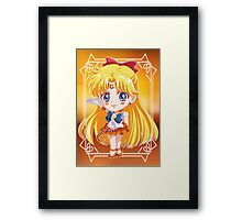 Chibi Sailor Venus Framed Print