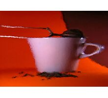cup of tea Photographic Print