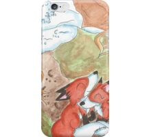 Den Snuggle iPhone Case/Skin