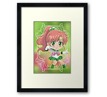 Chibi Sailor Jupiter Framed Print