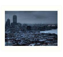 Gotham City. Art Print