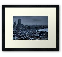 Gotham City. Framed Print