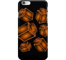 1 x 1 Bricks (AKA Falling Bricks) iPhone Case/Skin