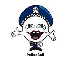 Police Ball Photographic Print