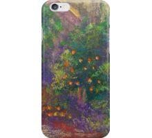Fallbrook Garden (pastel) iPhone Case/Skin