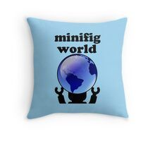 MINIFIG WORLD Throw Pillow