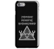 ZOMBIE MINIFIG BIOHAZARD iPhone Case/Skin