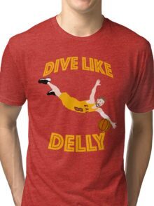 Dive Like Delly Tri-blend T-Shirt