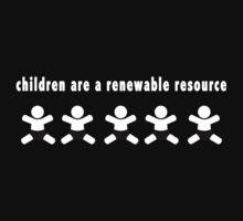 Renewable Children on Dark by Sarjex