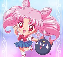 Chibiusa Sailor Moon Crystal by Rickykun