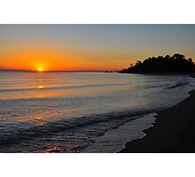 Coral Sea Dawn Photographic Print