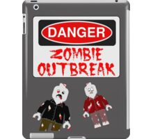 DANGER ZOMBIE OUTBREAK iPad Case/Skin