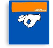 Carmelo Anthony 3 Ritual & Headband Canvas Print