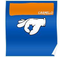 Carmelo Anthony 3 Ritual & Headband Poster