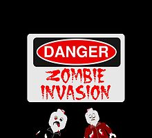DANGER ZOMBIE INVASION by Customize My Minifig