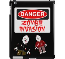 DANGER ZOMBIE INVASION iPad Case/Skin