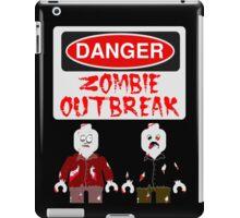 DANGER ZOMBIE OUTBREAK iPad Case/Skin