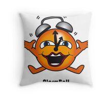 Alarm Ball Throw Pillow