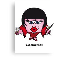Glamour Ball Canvas Print