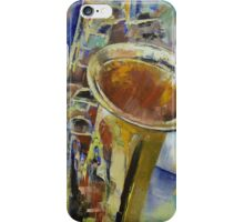 Saxophone iPhone Case/Skin