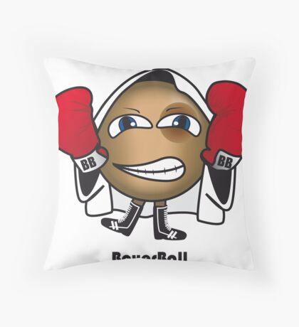 Boxer Ball Throw Pillow