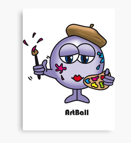 Art Ball Canvas Print