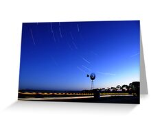 Countryside Startrails Greeting Card