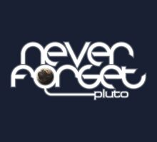 Never Forget Pluto Kids Tee