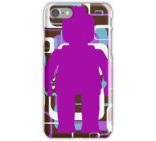 Retro Minifig Art iPhone Case/Skin