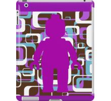 Retro Minifig Art iPad Case/Skin
