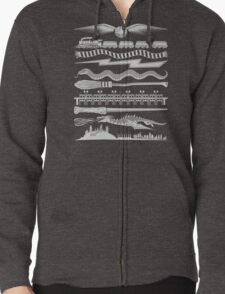 Wizard Whimsy Zipped Hoodie