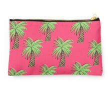 Summer Palm Trees - pink Studio Pouch
