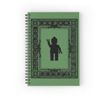 PARISIAN WAVE, by Customize My Minifig Spiral Notebook