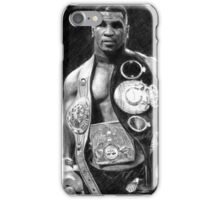 Mike Tyson Pencil Drawing iPhone Case/Skin