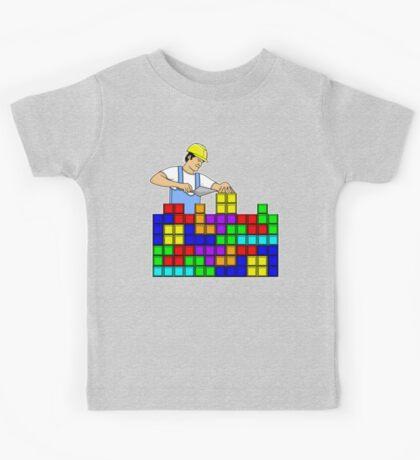 Brick Layer Kids Tee