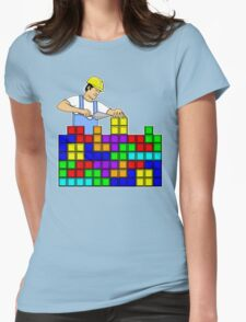 Brick Layer Womens Fitted T-Shirt