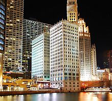 Chicago River - Greetings Everyone :-) by keleka656